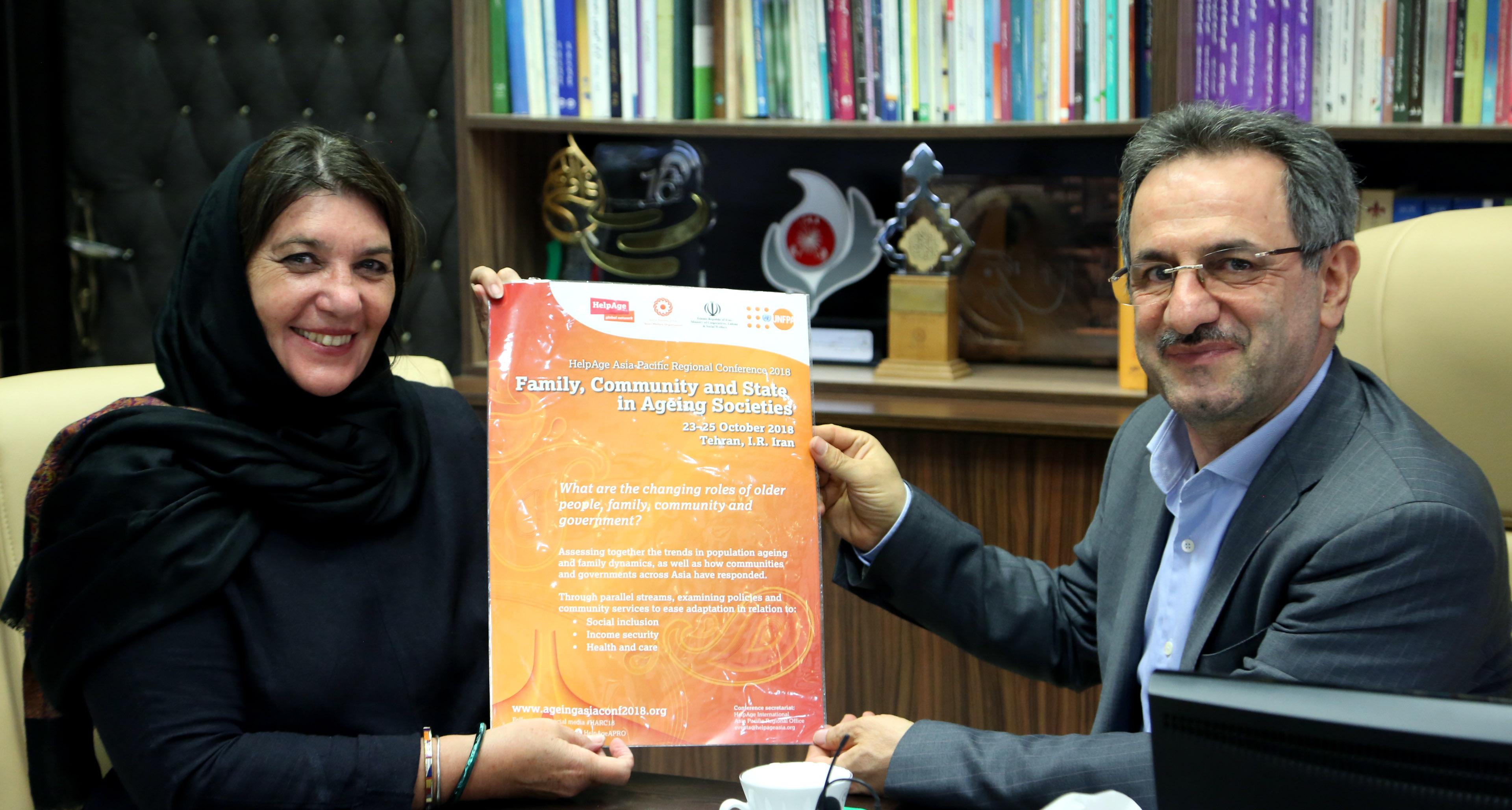 ایران؛میزبان کنفرانس منطقه ای سالمندی شد