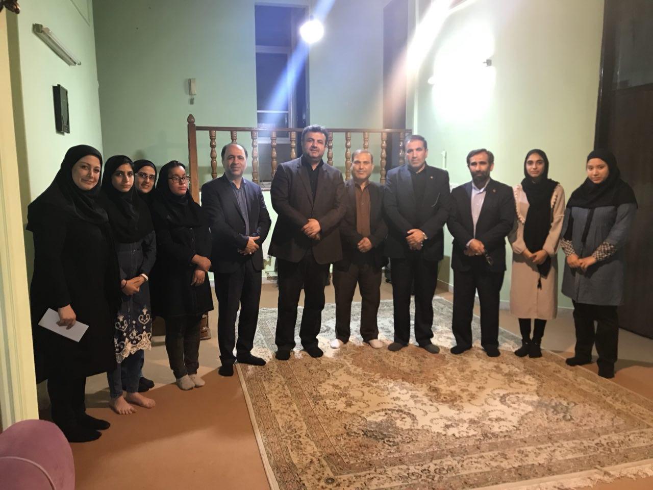 بازدید معاون سیاسی،امنیتی و اجتماعی استانداری  مازندران از مرکز نگهداری فرزندان بهزیستی در شهرستان ساری