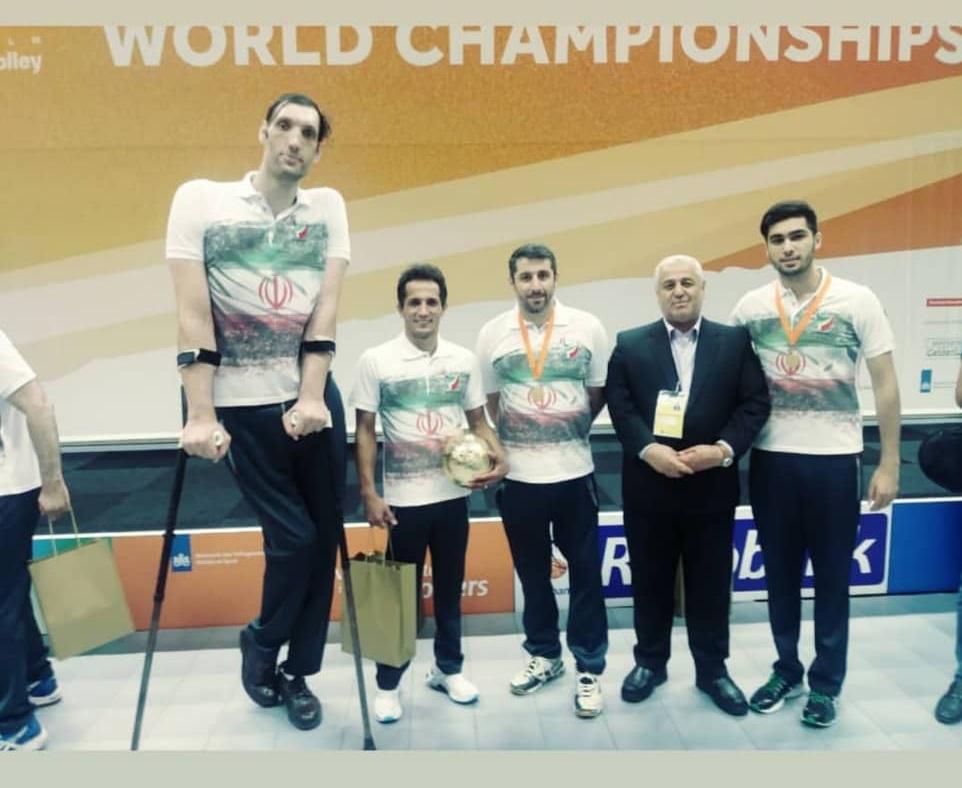 پیام مدیر کل بهزیستی مازندران بمناسبت قهرمانی تیم ملی والیبال نشسته در جام جهانی