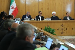 در جلسه هیات دولت به ریاست دکتر روحانی؛