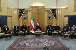 روحانی: همه به ترامپ میخندیدند / حقانیت ایران ثابت شد