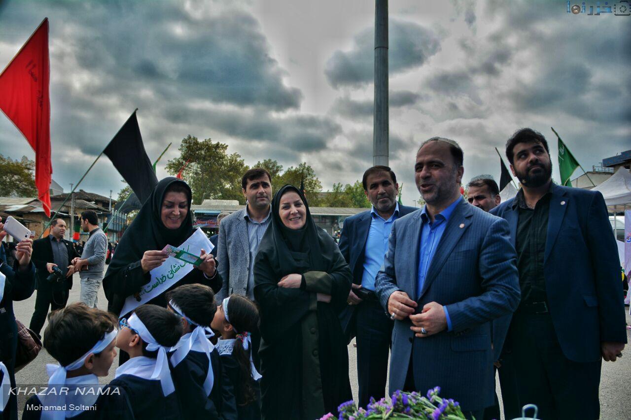 برگزاری مراسم شور حسینی همزمان با هفته ملی کودک