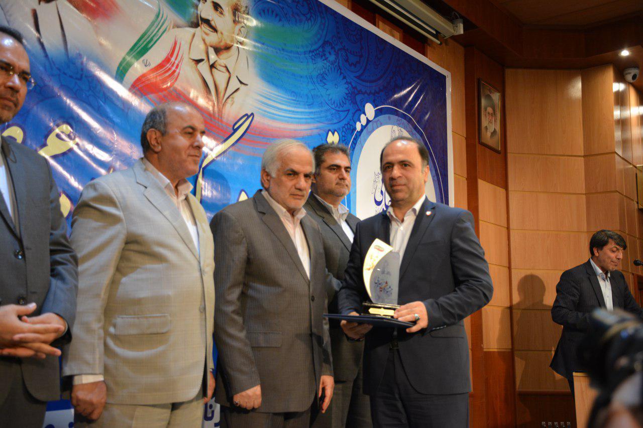 بهزیستی مازندران رتبه برتر در جشنواره شهید رجائی را کسب کرد