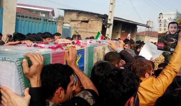 پیکر شهید «محمد معافی» در زادگاهش روستای بَرگِه بهخاک سپرده شد