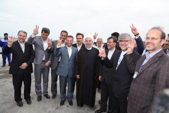 افتتاح فاز ۲ منطقه ویژه اقتصادی بندر امیر آباد با حضور رییس جمهور