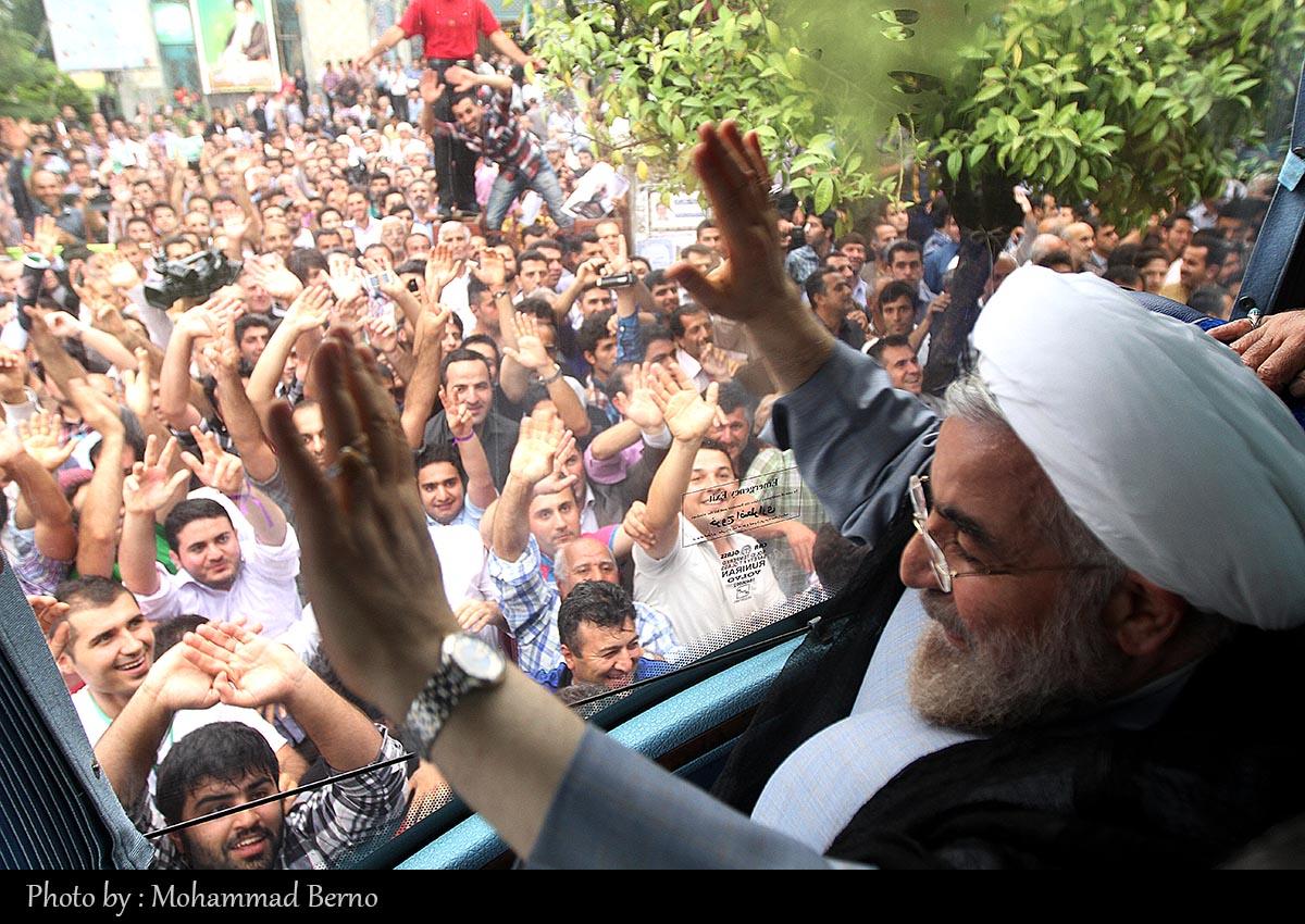 رییس جمهور دکتر روحانی وارد مازندران شد