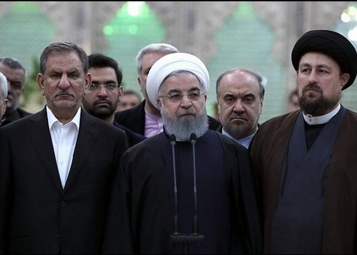 روحانی: هیچکس نمیتواند مردم را از اعتراض باز دارد
