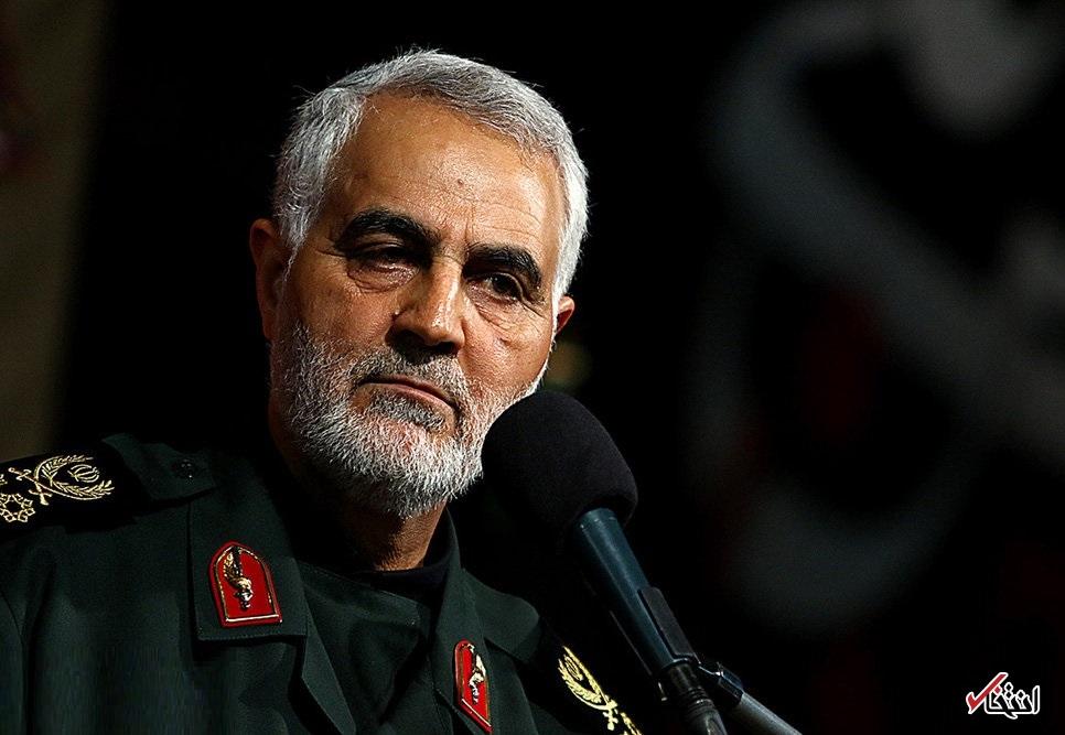 سردار سلیمانی:  برخی می گویند همانگونه که امام در قصه قطعنامه و آتش بس جام زهر را نوشید، امروز هم باید در مقابل آمریکا این کار را انجام دهند