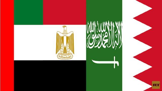 عربستان، بحرین، امارات و مصر روابطشان را با قطر قطع کردند/دوحه ابراز تاسف کرد